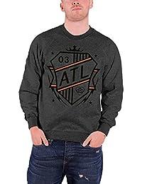 All Time Low Shield Logo officiel Homme nouveau Gris Sweat-Shirt