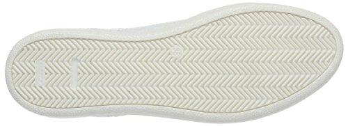 Mjus Damen 876106-0401 Sneakers Weiß (bianco+bianco+bianco+argento)