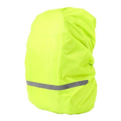 Regenschutz für Rucksäcke Wasserdicht Raincover für Rucksäcke für 30L - 40L Rucksack,Gelb