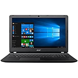"Acer ES1-533-C3PZ - Ordenador Portátil de 15.6"" HD (Intel Celeron N3350, 4 GB RAM, 1 TB HDD, Intel HD Graphics 500, Windows 10); Negro - Teclado QWERTY Español"