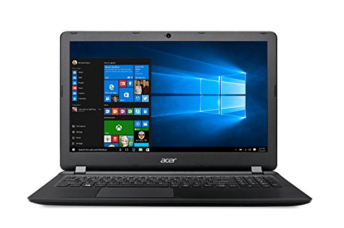 "Acer ES1-533-C3PZ - Ordenador Portátil de 15.6"" HD (Intel Celeron N3350, 4 GB RAM, 1 TB HDD, Intel HD Graphics 500, Windows 10)&#x3B; Negro - Teclado QWERTY Español"
