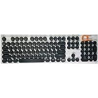 FGHGFCFFGH 104 Keys Punk Keycap ABS Round Keycap DIY Button Cap For Mechanical Keyboard