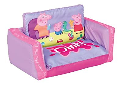 Peppa Pig 2 in 1 Inflatable Flip Out Mini Sofa and Lounger - inexpensive UK light shop.