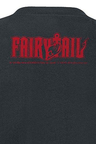 Fairy Tail Logo T-Shirt Schwarz Schwarz