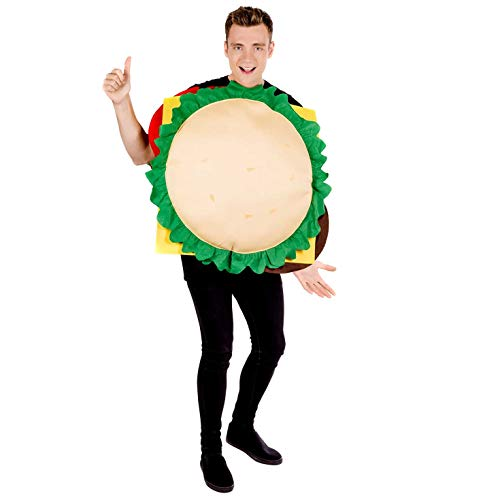 Kostüm Cheeseburger - Fun Shack Herren Costume Kostüm, Cheeseburger, Einheitsgröße