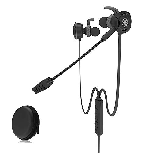 Simple Life Gaming Headset Gaming Headset with Mic and Mic In Ear Sound Stereo Ergonomic Noise Canceling, Compatible with PS4, Xbox One, PC, Laptop, Tablet, Mobile