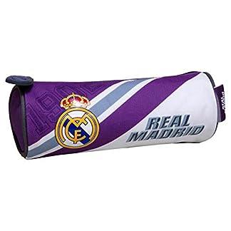 Real Madrid CF- Portatodo cilíndrico, Multicolor, 22 cm (CYP PT-275-RM)