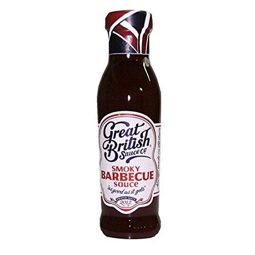 Great British Sauce Co | Smokey Bbq Sauce | 6 x 330G (Vegetarische Barbecue-sauce)