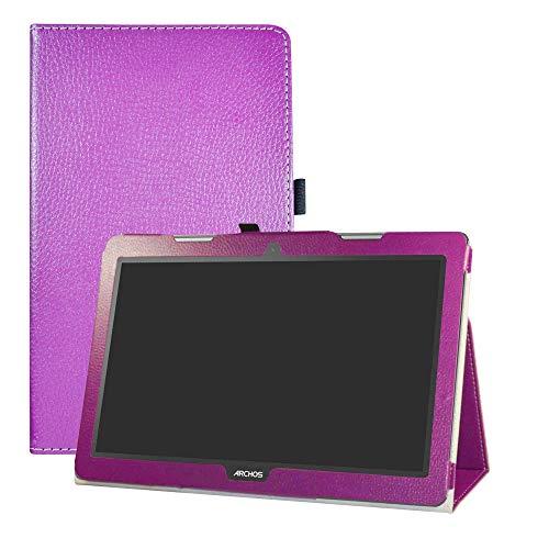 """LFDZ Archos 133 Oxygen Coque, Slim Fit Housse Support Ultra-Mince et Léger Etui Cover pour 13.3"""" Archos 133 Oxygen Tablet,Violet"""