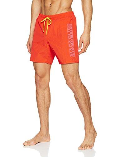 Napapijri Varco, Pantalones Cortos para Hombre, Naranja (Orange A47), XXX-Large