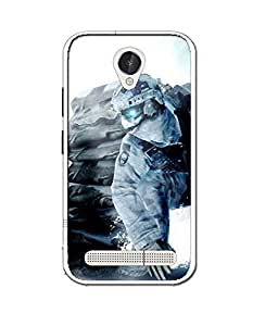 CRAZYMONK DIGITAL PRINTED BACK COVER FOR LAVA X46