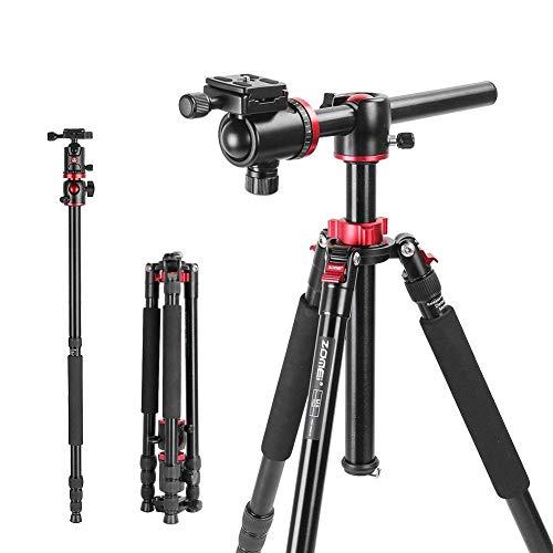 Fotostativ ZOMEi M8 Professionelle Aluminium Legierungs Stative und Einbeinstativ Stativ Kamera mit 360 Grad Panorama Kugelkopf für Canon Sony Nikon DSLR Kameras