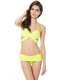 Ivy Shi Damen Bikini-sets anders tragen Methode