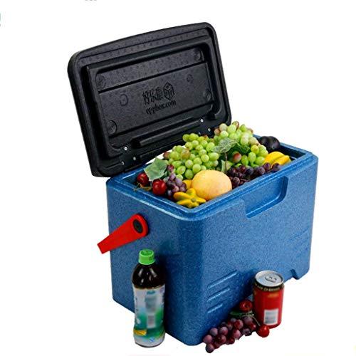 Preisvergleich Produktbild XQY Auto Kühlschrank-Kühlbox 22L Tragbare Persönliche Kühlbox-Leistung,  Essen Trinken Picknick Strand Camping Isolierte Eisbeutel Kühlbox-Außen Bier Party Kühlung Transportbox, A
