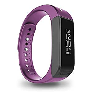 Mevofit Drive Unisex Smart Activity Tracker and Fitness Band Watch (Lilac, L-Drive)