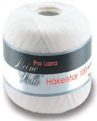 Häkelstar 100 - 100g - Farbe: 01, weiß (18 Farben erhältlich)
