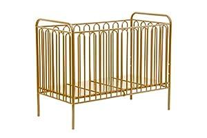 Kidsaw Vintage Metal Baby Cot 150, Gold, of