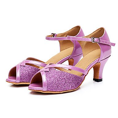Wuyulunbi@ Le donne di Latino del Training Sneaker rivestimento tacco basso rosa 1,Rosa,US5 / EU35 / UK3 / CN34 US9 / EU40 / UK7 / CN41