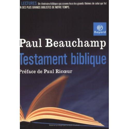 Testament biblique