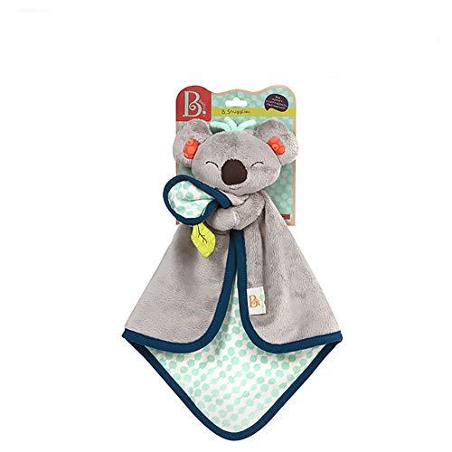 KUDYN Baby Komfort Handtuch Speichel Handtuch Schlafkomfort Handtuch Dental Tuch Cartoon Tier Plüschtier Spielzeug 0-18 Monate Baby,Koala