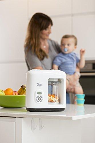 Tommee Tippee 440065 Dampfgarer & Mixer für Babynahrung, weiß - 6