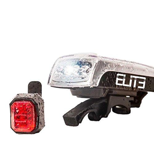 Solarbetrieben USB Wiederaufladbare LED Fahrradbeleuchtung STVZO Qualifizierte 1200 Lumen Ultra Bright Schnellverschluss Frei Tailight 6 Stunden Akkulaufzeit Elite Sport 1200