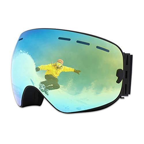 X-TIGER Lunettes de Ski,Snowboard OTG pour Homme...