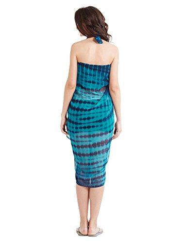 Mirchi Fashion - Copricostume -  donna Blu/Rosso