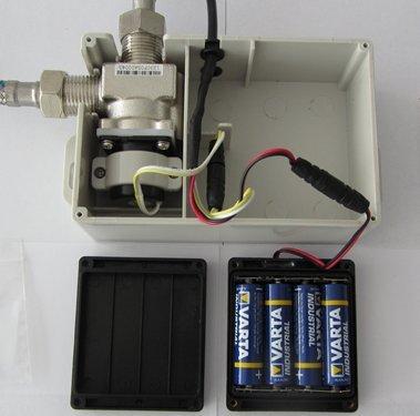 Watermeetsdesign – Infrarot IR Sensorarmatur, Waschtisch, Kaltwasserarmatur, mit Batteriebetrieb, Chrom - 5