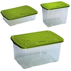 Contenitore in plastica con ruote per abiti giocattoli for Contenitori per esterni in plastica