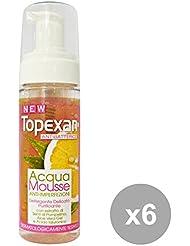 Set 6 TOPEXAN Acqua Mousse Antibatterico 170 Ml. Cura del viso