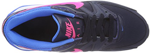 Nike Air Max Command (Gs) Scarpe Da Corsa, Bambina Obsidian/Pink Pow-Photo Blue