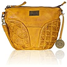 KOMPANERO Yellow Ladies Sling bag