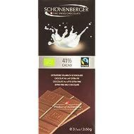 Schönenberger Tablette Chocolat au Lait 31% Bio 2 x 50 g