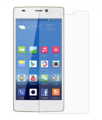 SNOOGG GIONEE S5.5 Full Body Tempered Glass Screen Protector [ Full Body Edge To Edge ] [ Anti Scratch ] [ 2.5D Round Edge] [Hd View] - White  available at amazon for Rs.125
