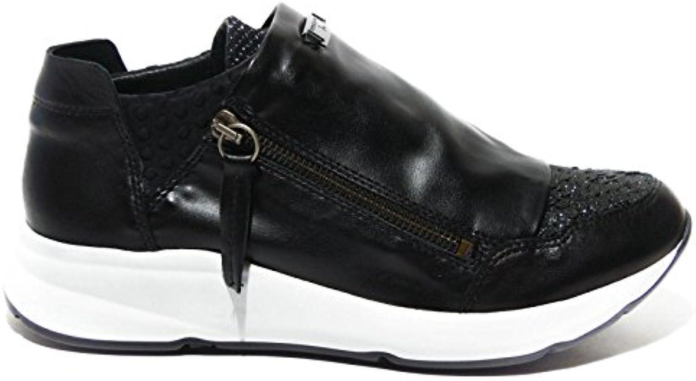 scarpe da ginnastica Tosca Blu pelle con paillettes art.sf1605s081 | Il Nuovo Prodotto  | Sig/Sig Ra Scarpa