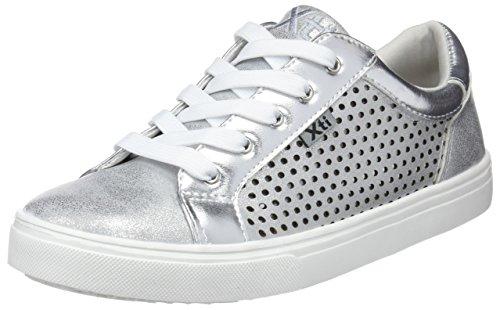 XTI 555510, Zapatillas para Niñas, Plateado (Silver), 28 EU