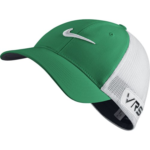 2014 Nike Tour Flex-Fit VRS RZN New Logo Mens Mens Golf Cap Lucid Green/White (Tour Mens Shorts Golf)