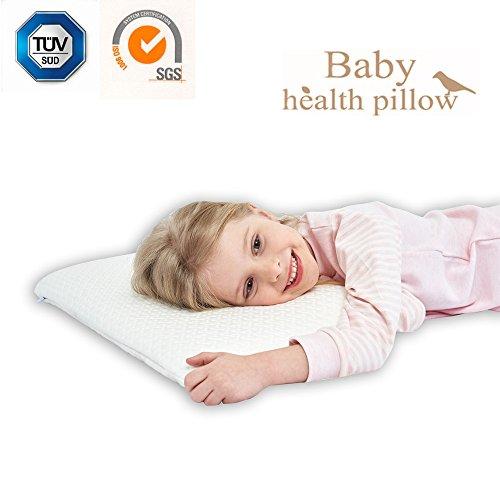 SIKAINI Kinder Kissen Soft Positioner für Neugeborene Es vorbeugt der Plagiozephalie für - Kinder Kopf-kissen Für