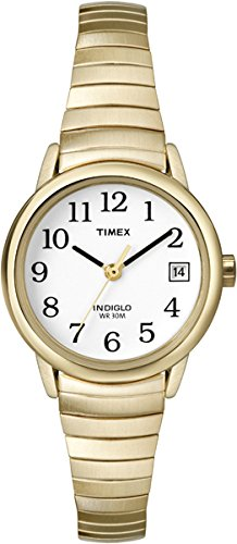 Timex Damen Analog Quarz Uhr mit Edelstahl Armband 7.53048E+11