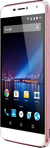 Phicomm Energy 3+ Smartphone (13,97 cm (5,5 Zoll) Display, 16 GB Speicher, Android 6.0) Rose Gold
