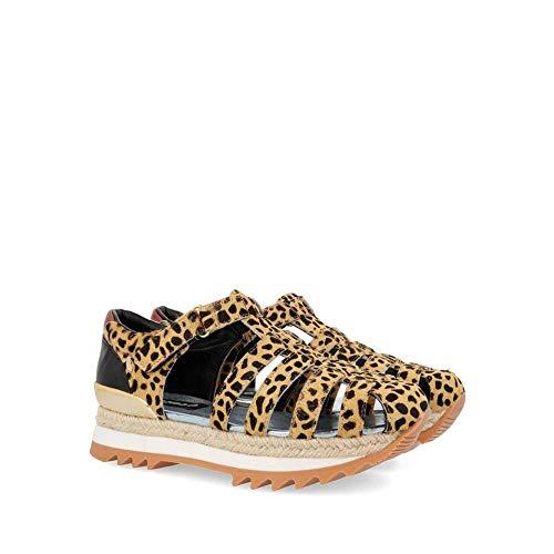 Gioseppo 47608, Zapatillas sin Cordones para Mujer, (Leopardo 000), 39 EU