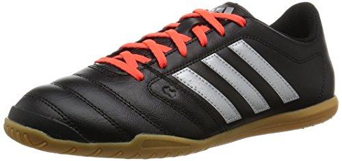 adidas Herren Gloro 16.2 indoor Fußballschuhe, Schwarz (Core Black/Silver Metallic/Solar Red), 42 EU