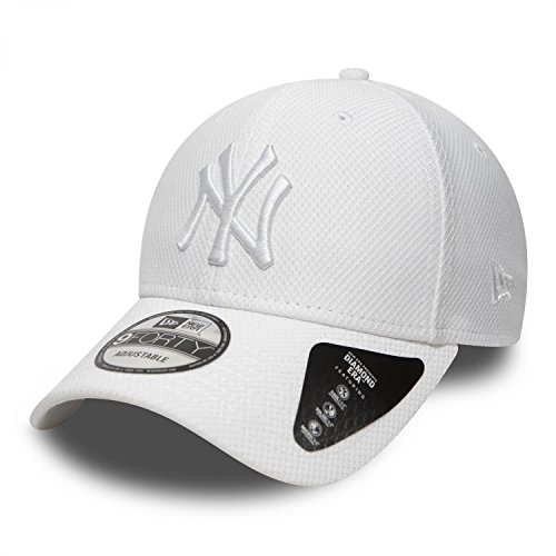 New Era Diamond Era 940 Neyyan Cap Linie New York Yankees Erwachsene, Unisex, weiß...