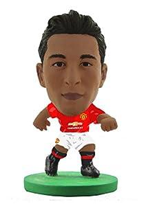 Soccerstarz SOC962 - Kit de hogar para Hombre con Texto 2017 Version Man Utd Matteo Darmian