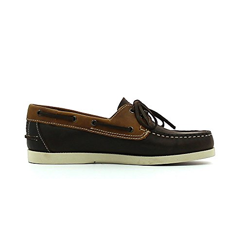 Chaussures Phenis Boat Marron/Tan e16 - TBS Marron