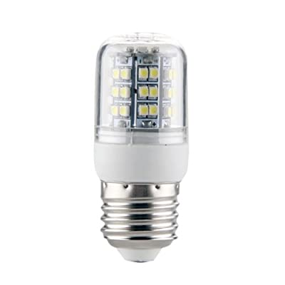 E27 48 SMD LED Weiß - 3,5W - 48 x 3528 SMD LED - Lampe Leuchtmittel Mais - 360º Abstrahlwinkel - E27 Sockel Beleuchtung - AC220V - Energiesparlampe von emall supply auf Lampenhans.de