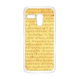 a AND b Designer Printed Mobile Back Cover / Back Case For Motorola Moto G (Moto_G_1545)