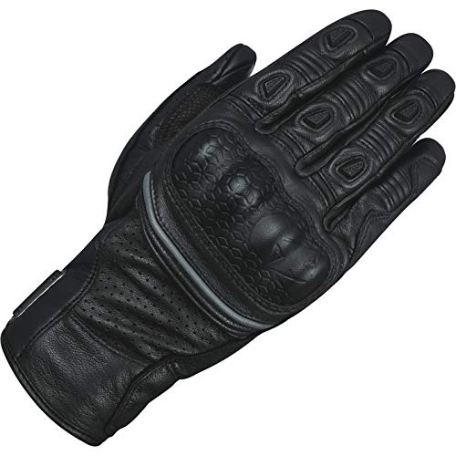 Oxford GM191101XL Hawker - Guanti da Moto, XL, Colore: Nero