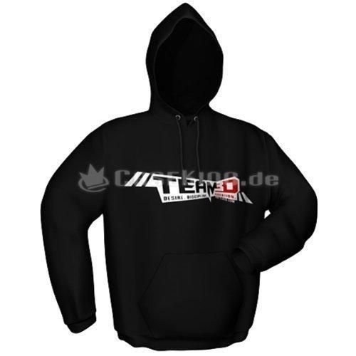 Preisvergleich Produktbild GamersWear TEAM3D Kapu Black (L)